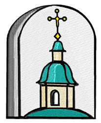Belfry embroidery design