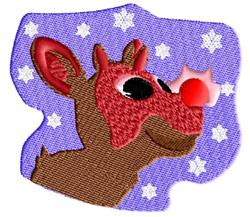 Glownose embroidery design