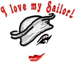 Sailor Love embroidery design