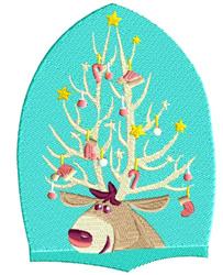 Rudolf the Reindeer embroidery design