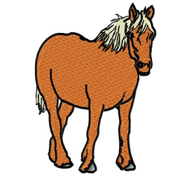 Palomino embroidery design