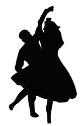 Fifties Dancers 2 embroidery design