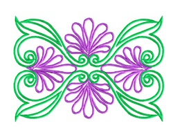 Flowery Design embroidery design