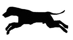 Racing Dog embroidery design