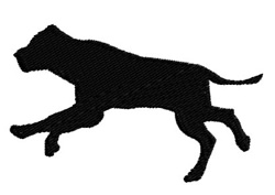 Hunting Dog embroidery design