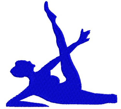 Gymnast 02 embroidery design