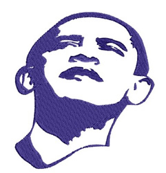 Barack embroidery design