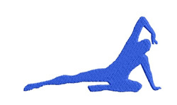 Gymnast 07 embroidery design