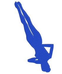 Gymnast 08 embroidery design