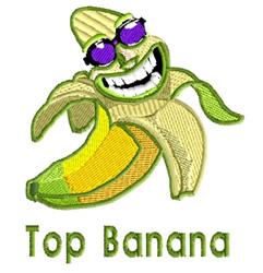 Top Banana 2 embroidery design