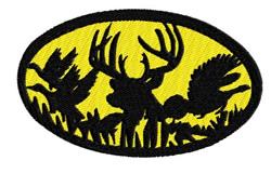 Hunting Scene embroidery design