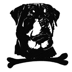 Rottweiler 2 embroidery design