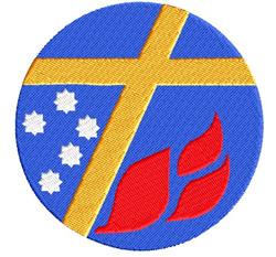Lutheran Logo embroidery design