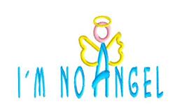 Im No Angel embroidery design