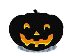 Glowing Pumpkin embroidery design