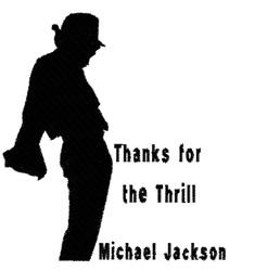 Michael Jackson Thrill embroidery design