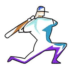Baseball Graphics embroidery design