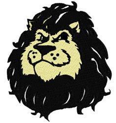 Lion Mascot embroidery design
