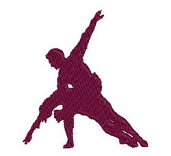Ballet embroidery design