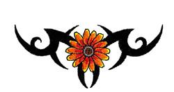 Black Eyed Susan embroidery design