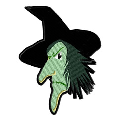 Witch Head embroidery design