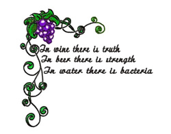 There Is Truth embroidery design