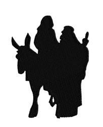 Mary And Joseph embroidery design