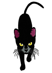 Sherrie The Cat embroidery design