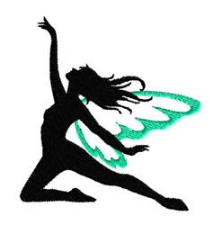 Ballet Fairy embroidery design
