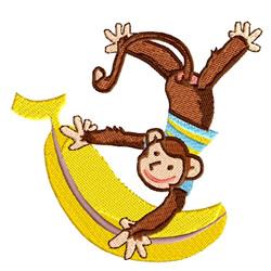 Big Banana embroidery design