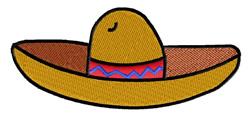 Sombrero embroidery design