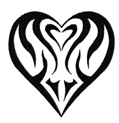 Heart Grahpic embroidery design