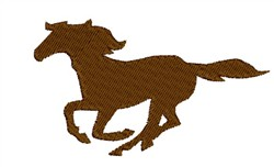 Running Horse embroidery design