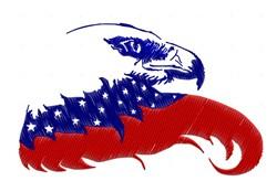 American Eagle embroidery design