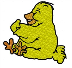 Duckie embroidery design