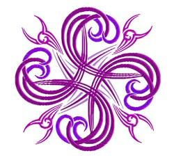Swirl Design embroidery design