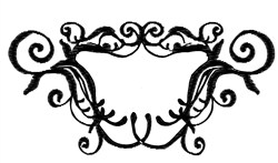 Fancy Frame embroidery design