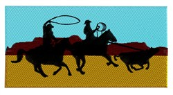 Ropers Scene embroidery design