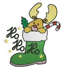 Ho Ho Ho embroidery design