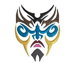 Tattoo Mask embroidery design