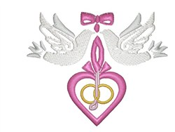 With These Rings embroidery design