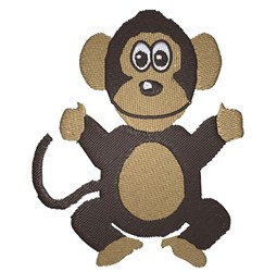 Baby Ape embroidery design