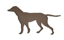 English Pointer embroidery design