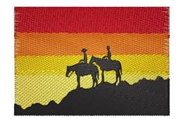 Sunset Scene embroidery design