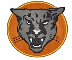 Mountain Lion embroidery design