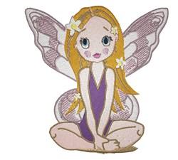 Cute Fairy embroidery design
