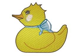 Cute Ducky embroidery design