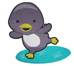 Cute Baby Penguin embroidery design