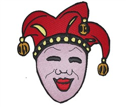 Jester embroidery design