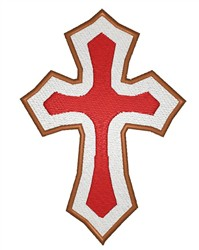 Christian Cross embroidery design